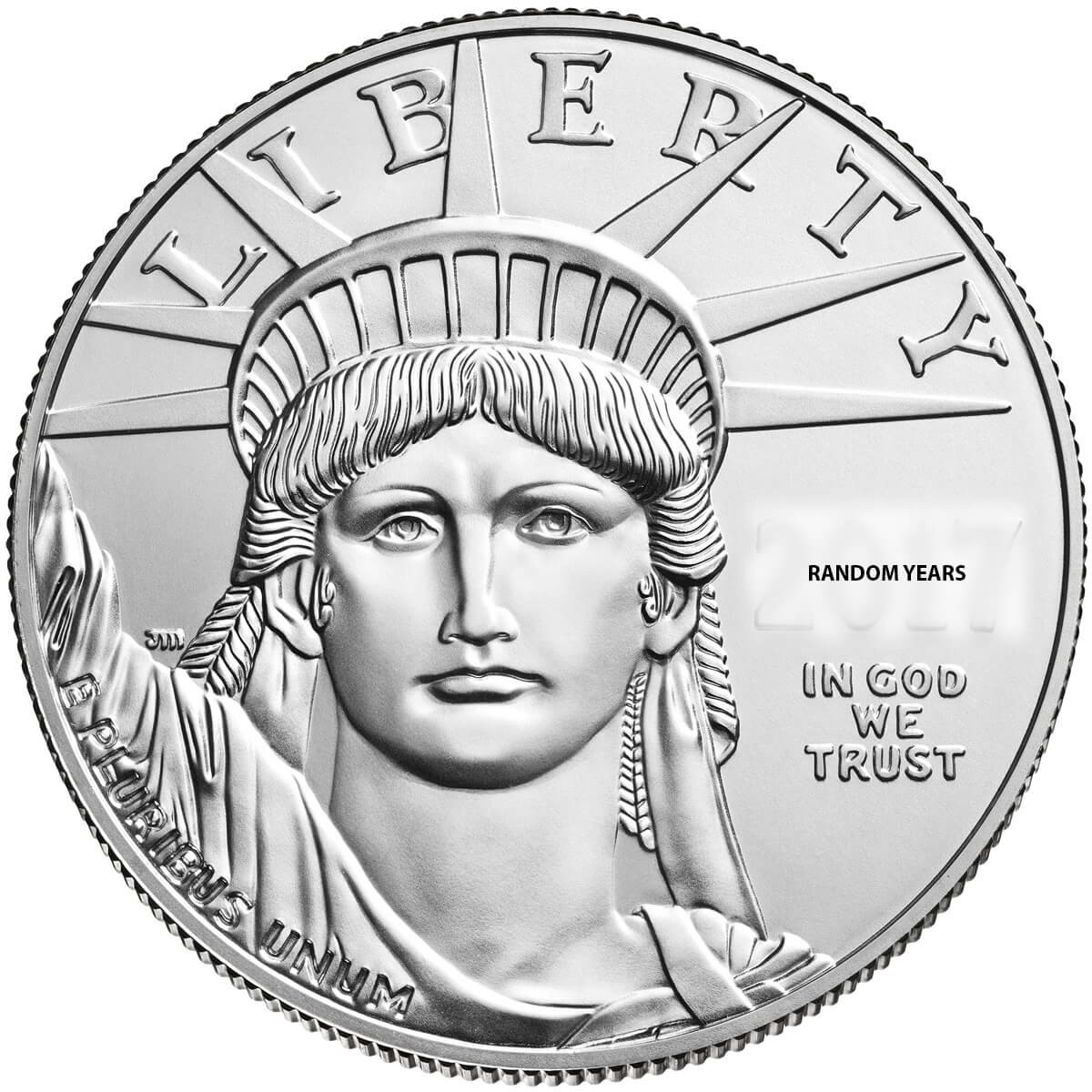 1 Ounce Platinum American Eagle 2020