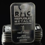 1 Ounce Silver Bar - Republic Metals Corp.