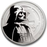 1 Ounce Silver Niue Star Wars Darth Vader