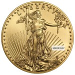 1/4 Ounce Gold American Eagle Back Dated