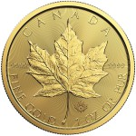 1 Ounce Gold Canadian Maple Leaf 2018