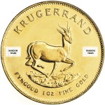 1 Ounce Gold South African Krugerrand (Random Year)