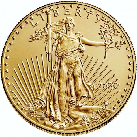 1 Ounce Gold American Eagle 2020