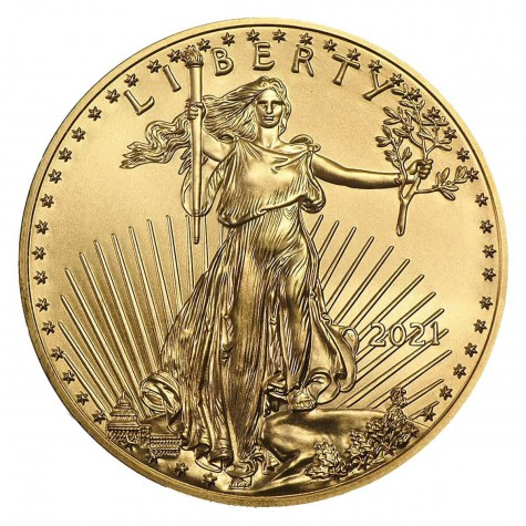 1/4 Ounce Gold American Eagle 2021