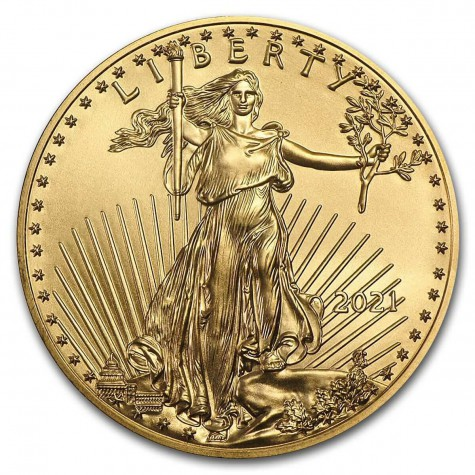 1/10 Ounce Gold American Eagle 2021