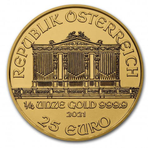 1/4 Ounce Gold Austrian Philharmonic 2021