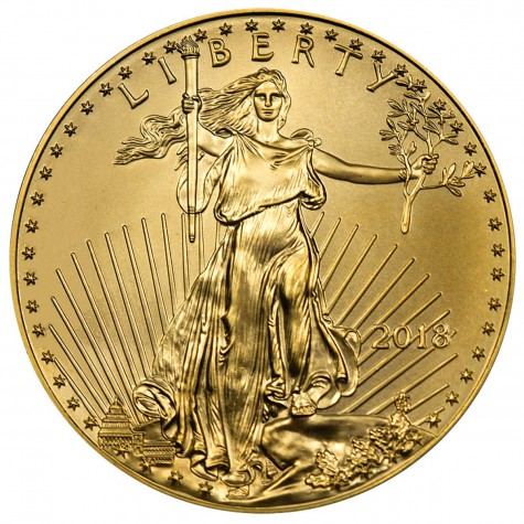 1/2 Ounce Gold American Eagle 2018
