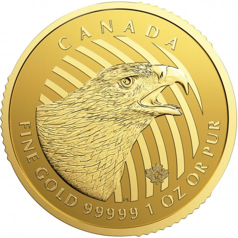 1 Ounce Gold Canadian Golden Eagle 2018