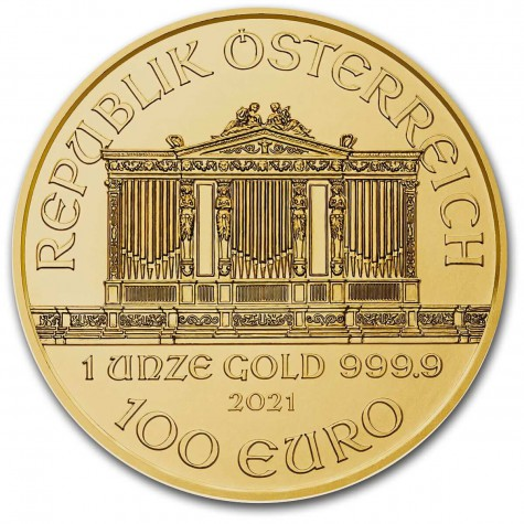 1 Ounce Gold Austrian Philharmonic 2021
