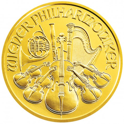 1 Ounce Gold Austrian Philharmonic (Random Year)