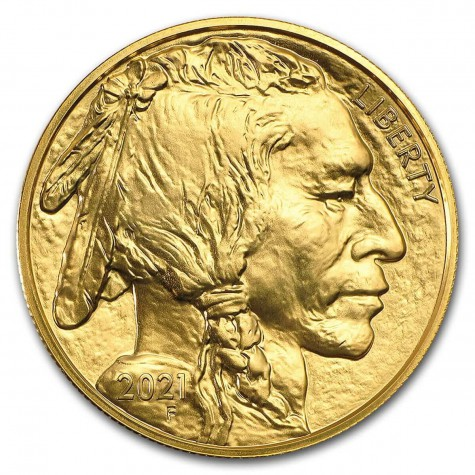 1 Ounce Gold American Buffalo 2021