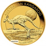 1/10 Ounce Gold Australian Kangaroo Back Dated